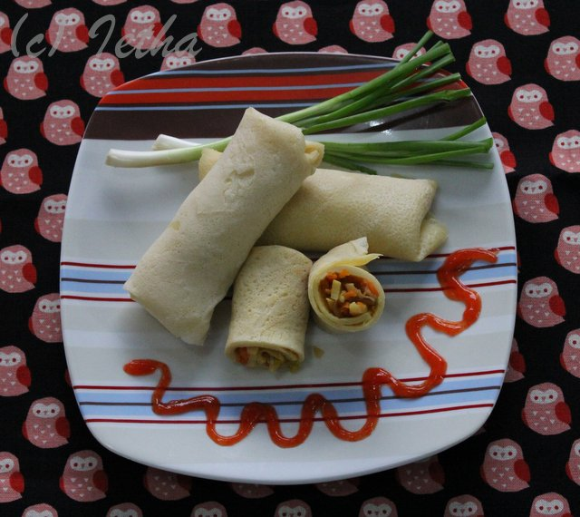 Lumpia Sayur (Vegetable Spring Roll)