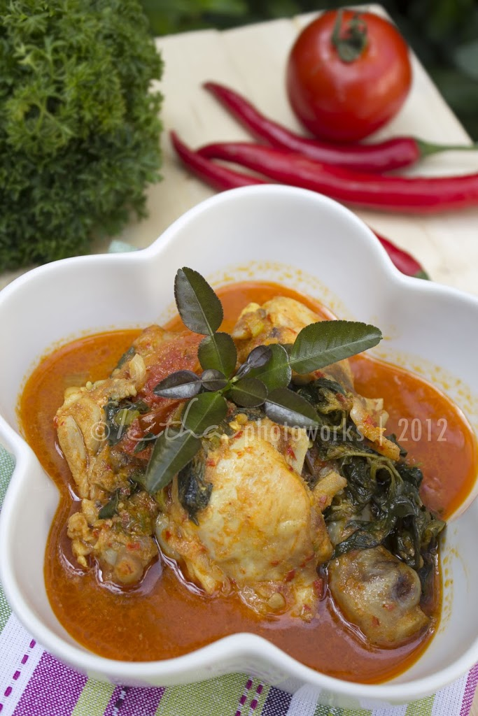 Ayam Woku Belanga Chicken With Spicy Chilli Woku Sauce My Little Kitchen
