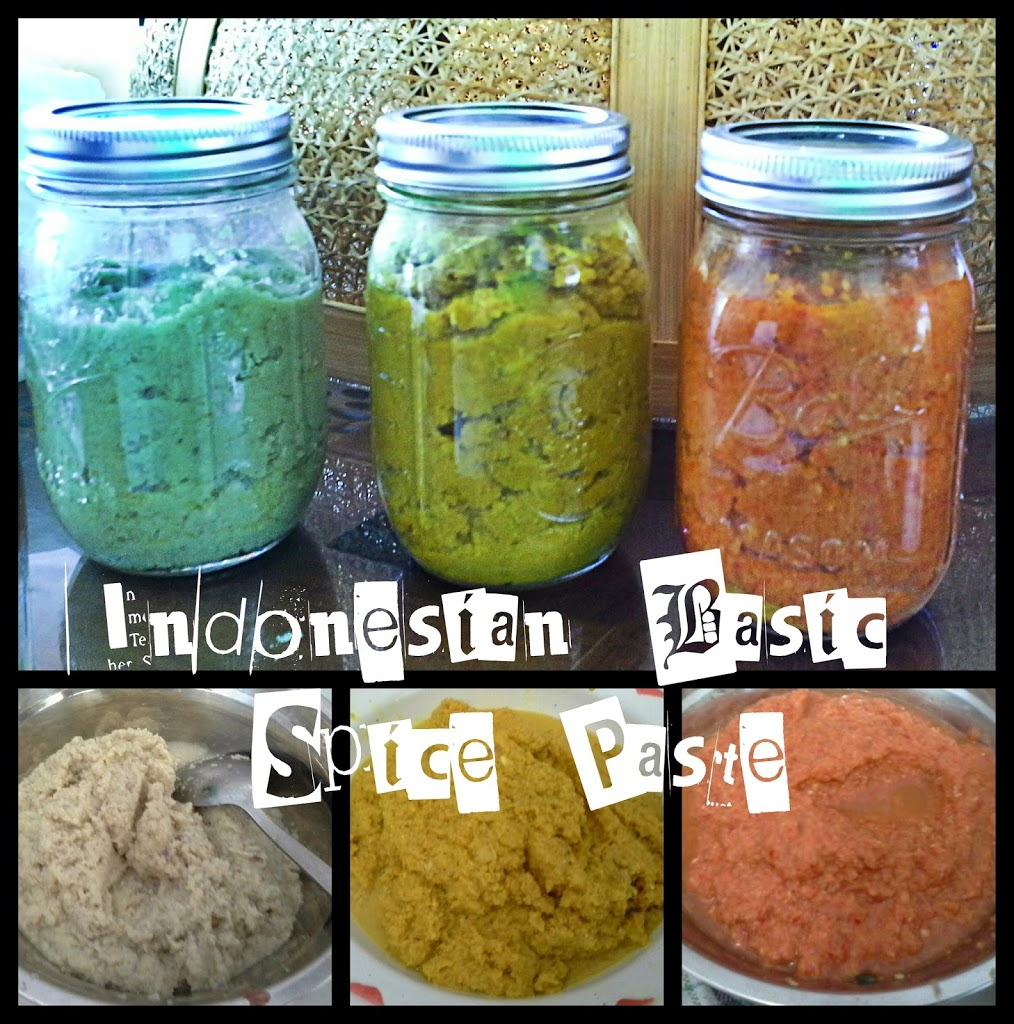 Indonesian Basic Spice Paste (Bumbu Dasar Indonesia)